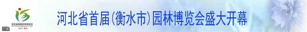 河北省首届(衡水市)园林博览会盛大开幕
