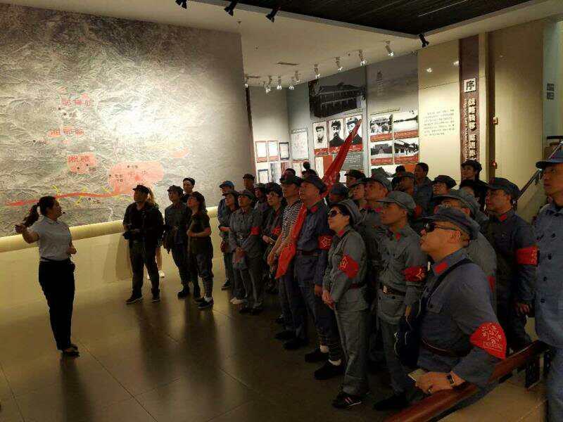 哈尔滨市工商联红色之旅 弘扬长征精神坚定理想信念