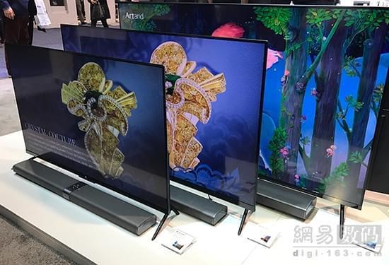 小米电视4亮相ces 2017