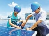 屋顶建电站 发电十万度