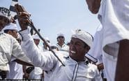 印尼巴东的印度教净化仪式