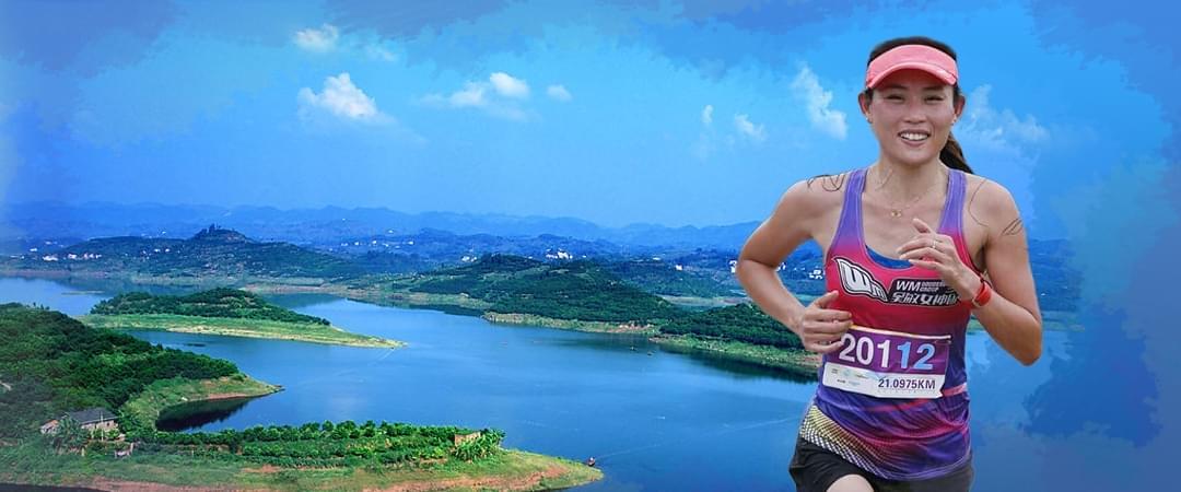 铁人三项冠军带你跑65.5平方公里长寿湖