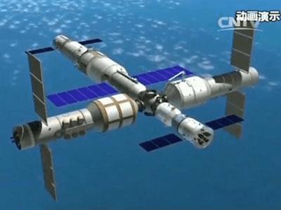 我国将于2022年前后建成空间站,总重近100吨