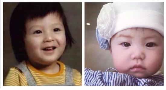 陈冠希儿时旧照曝光 脸型圆润和女儿复制黏贴