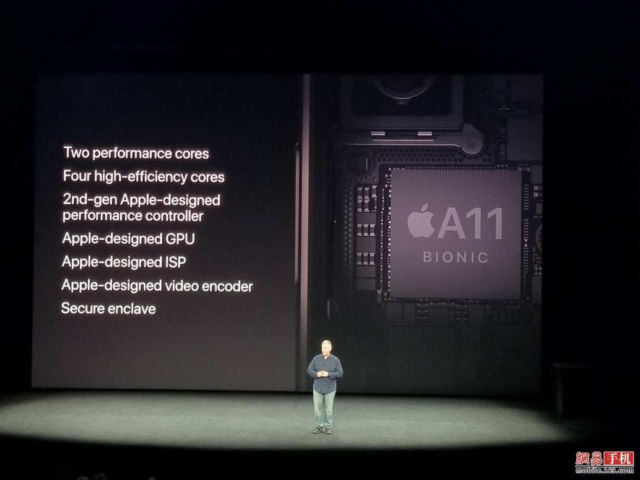 苹果三款全新iPhone搭载A11处理器 性能提升