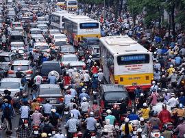 为整治交通拥堵现象 越南成立指导委员会