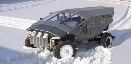普京代言的俄罗斯版悍马:重5吨的霸气军车