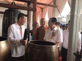 五台山首届国际佛事用品博览会隆重开幕