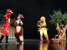 大圣归来   大型动漫人偶童话剧《猴子王》上演!