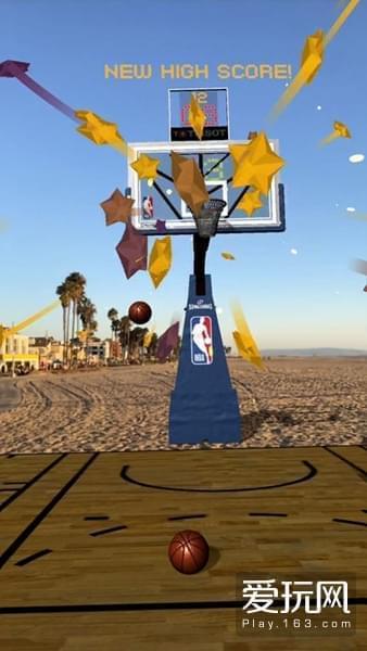 无任何内购项目 NBA官方推出AR手游《NBA AR》