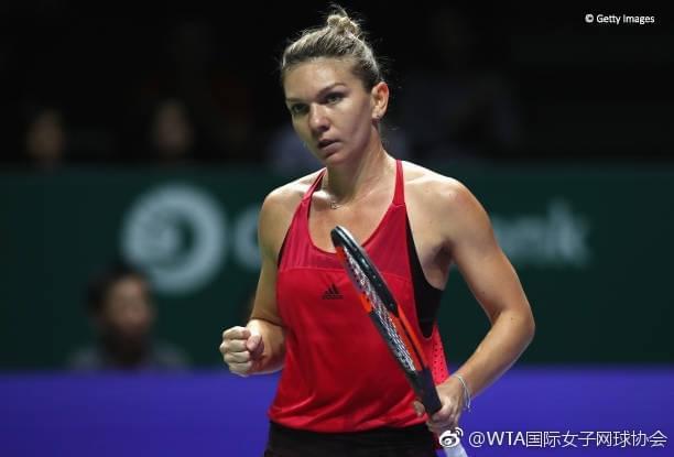 WTA总决赛哈勒普终结加西亚11连胜 沃兹送蛋横扫
