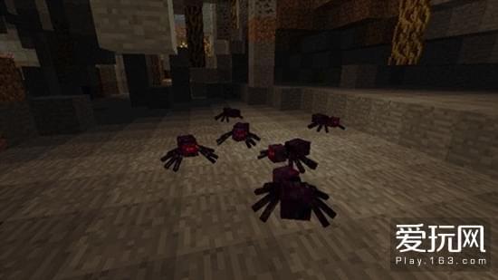 我的世界暮色森林MOD生物 集群蜘蛛介绍