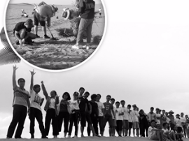 """""""抢能量""""种梭梭树?南京一群大学生真去沙漠种树了"""