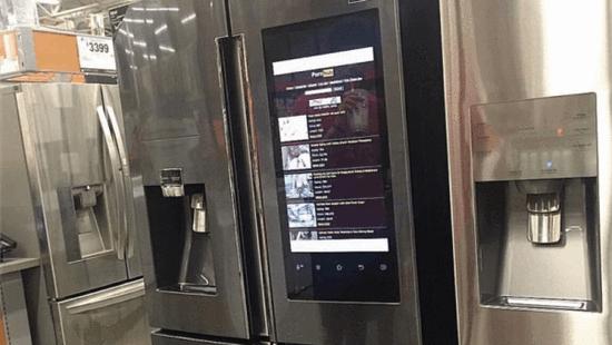 McAfee创始人泄露支持Pornhub视频的智能冰箱