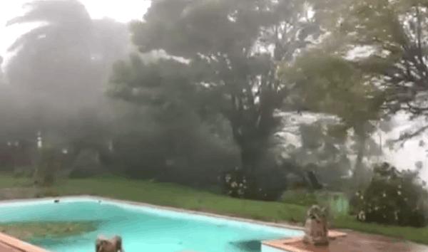 """""""玛利亚""""飓风袭击多米尼加 总理家房顶被掀翻"""