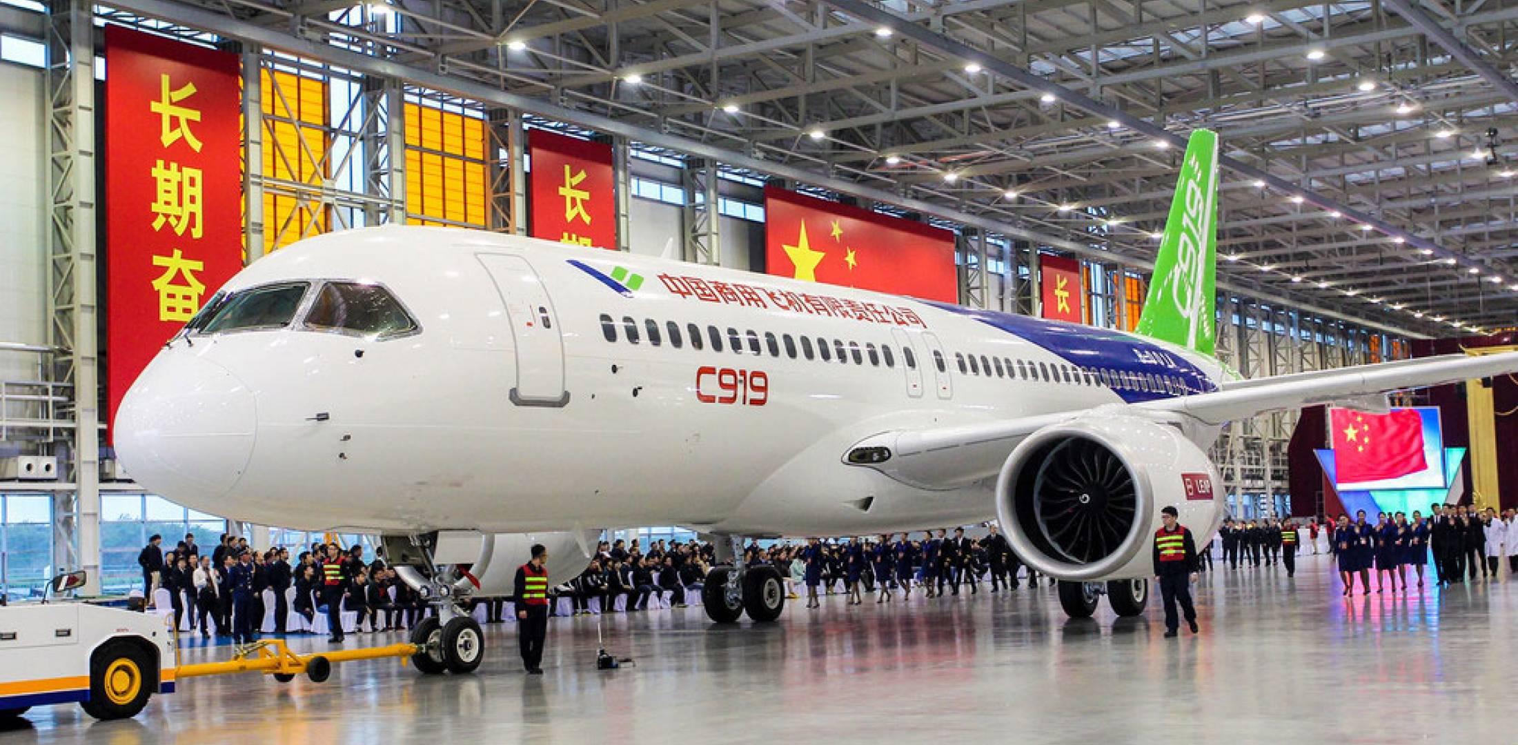 C919已获815架订单 中国商飞想借上市飞得更高