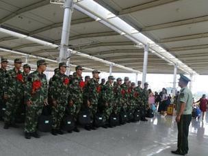 350名广西消防新兵齐聚总队培训基地 开训了