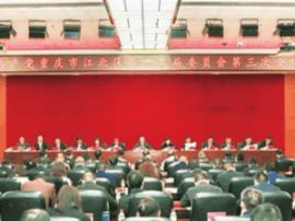 江北书记李维超:扎实推进改革发展各项事业