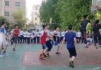 衡中举行篮球对抗赛
