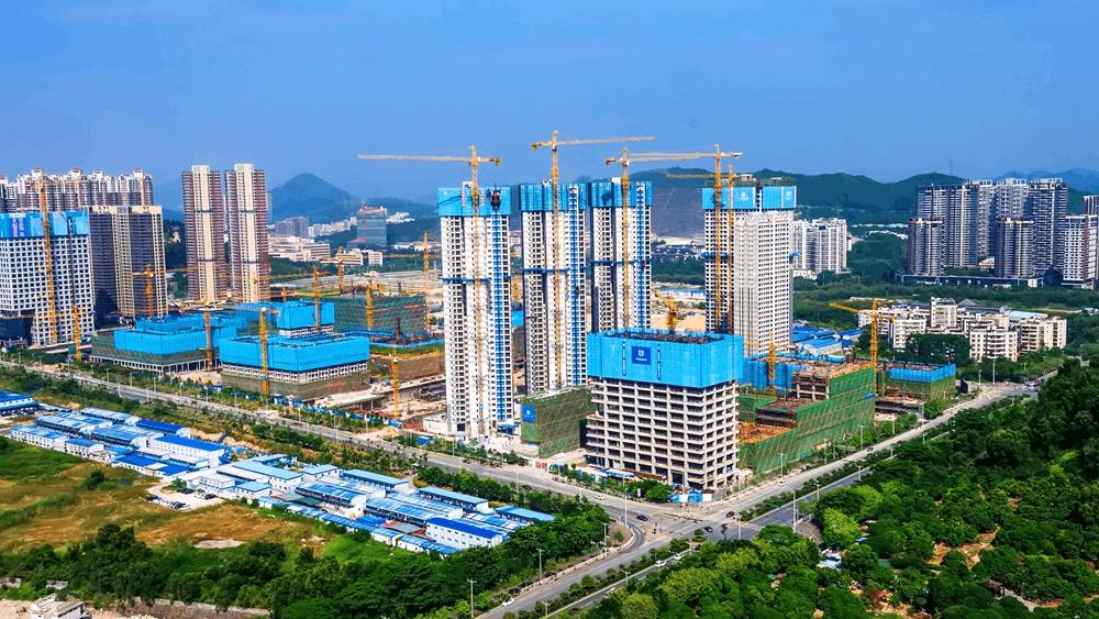 记万科云城精细管理 提质增效 打造绿色施工典范