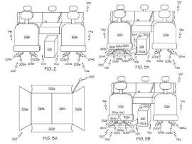 丰田新专利:收集座椅缝隙掉落物品