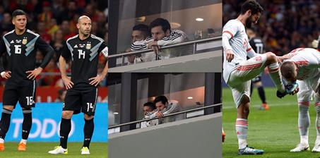 三流蓝世界杯冠军梦遭暴击 西班牙梅西出世