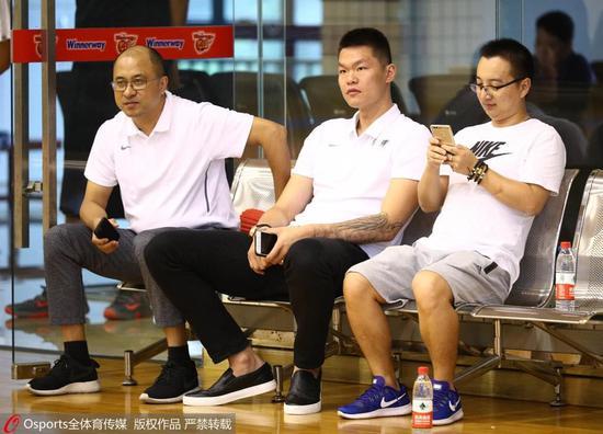 朱芳雨:新赛季广东目标季后赛 冠军是永远的追求