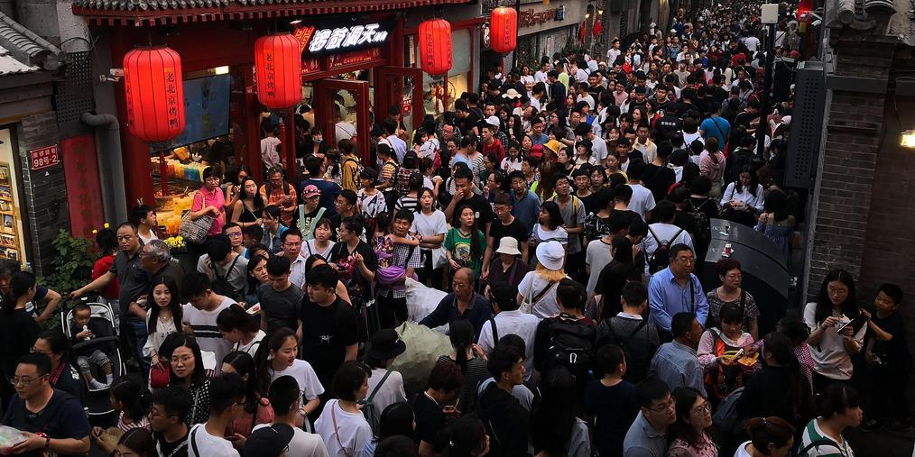 """挤爆!这是""""五一""""小长假期间的北京景点"""