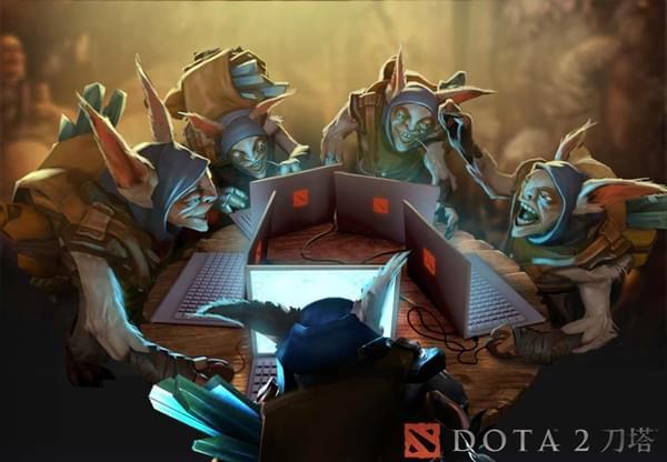 视界:智慧的博弈 当DOTA2的教练走进比赛室