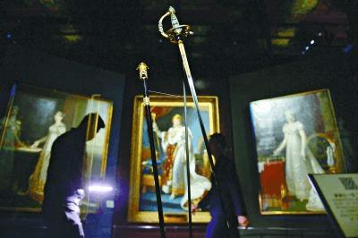 拿破仑加冕之剑首次离法展出