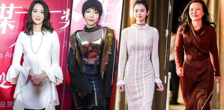 直击2017年女性传媒大奖红毯