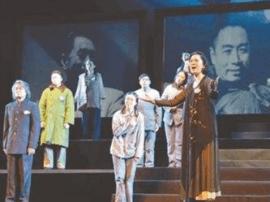 情景剧《一代楷模》在太原工人文化宫上演