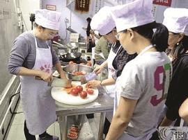 运城市总工会举办第三期河东厨艺培训班
