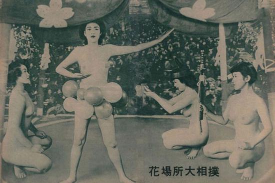 江户时代女子相扑