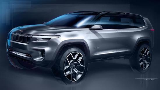 """Jeep云图""概念车设计图"