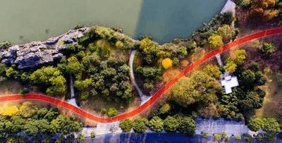 北仑中心公园健身绿道将完美亮相