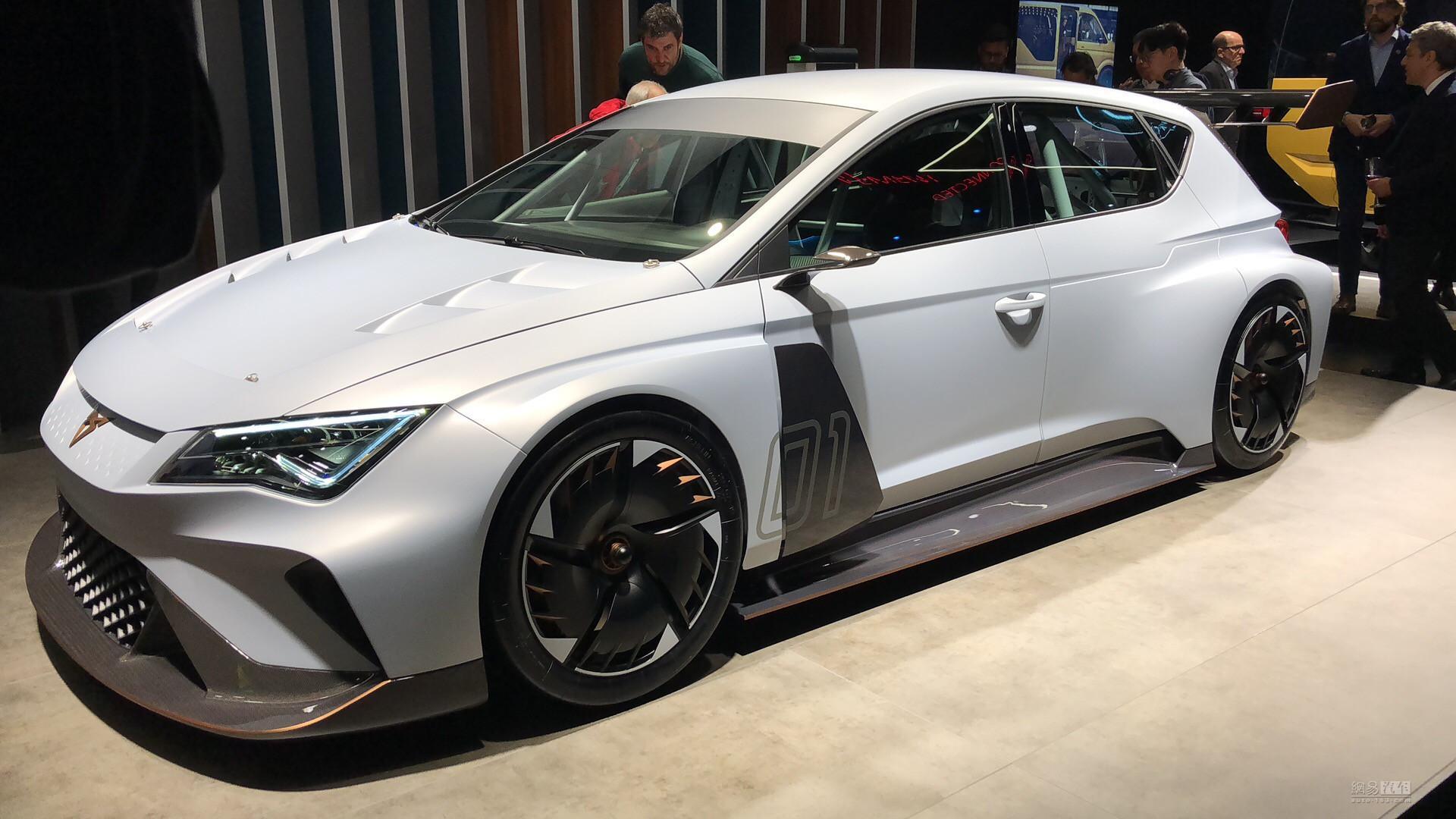 纯电动赛车 Cupra e-Racer概念车正式发布