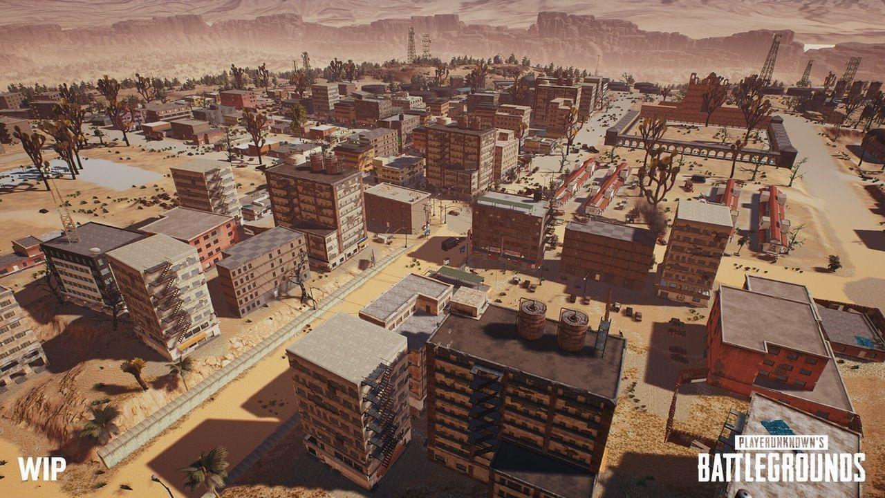 《绝地求生》沙漠地图小地图曝光 暂未公布上线时间