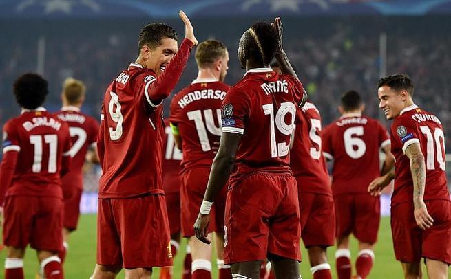 马内轰欧冠首球 利物浦3-3未出线
