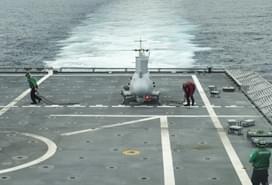 美军战舰再次闯入南海