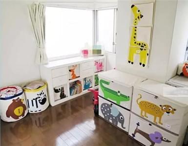 宝宝衣物太多头疼?最省空间的儿童房收纳技巧