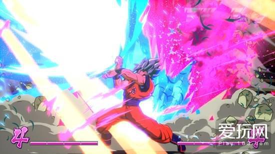 龙珠战士Z 视频发布 超蓝悟空大战超蓝贝吉塔