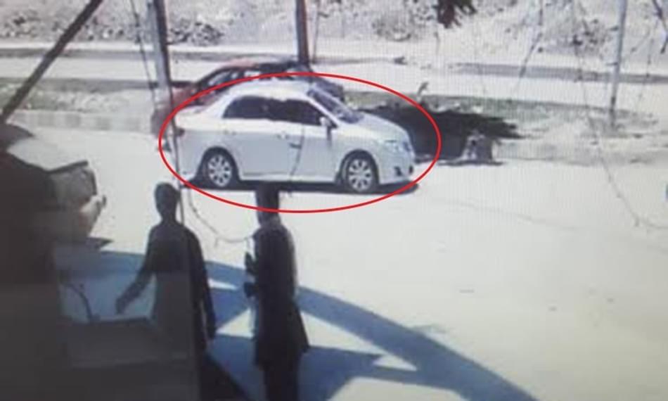 中国夫妻在巴基斯坦遭到绑架现场