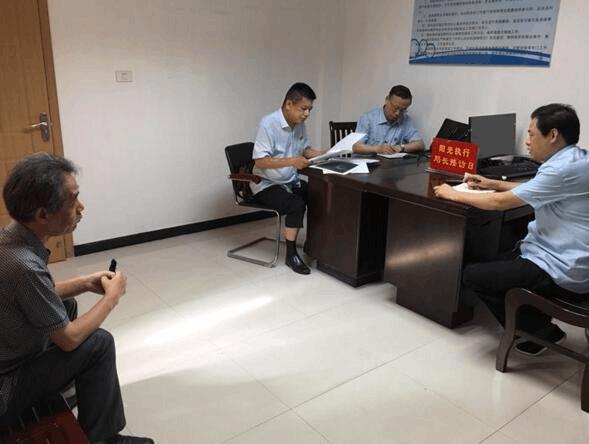 荆州市中级人民法院执行局开设接访日