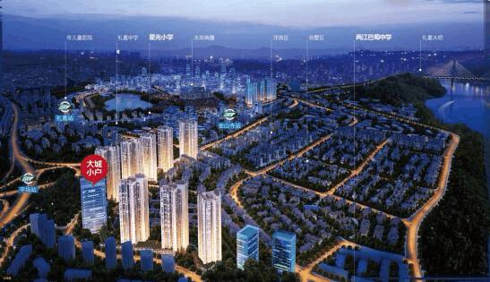 重庆再向北——礼嘉嬗变 崛起新生
