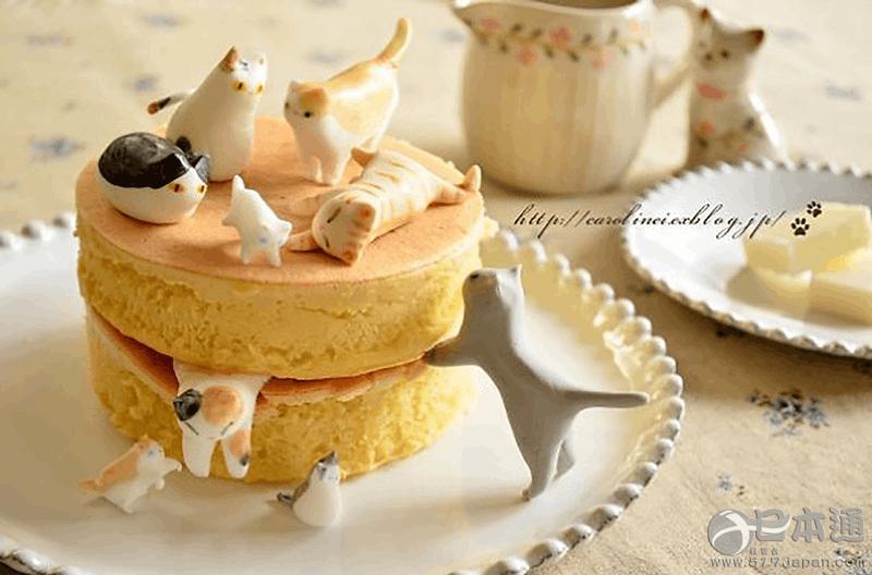 不忍下口啊喵!日本猫咪甜点可爱爆!