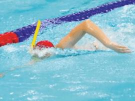 全国春季蹼泳锦标赛 湛江籍两选手各夺一金