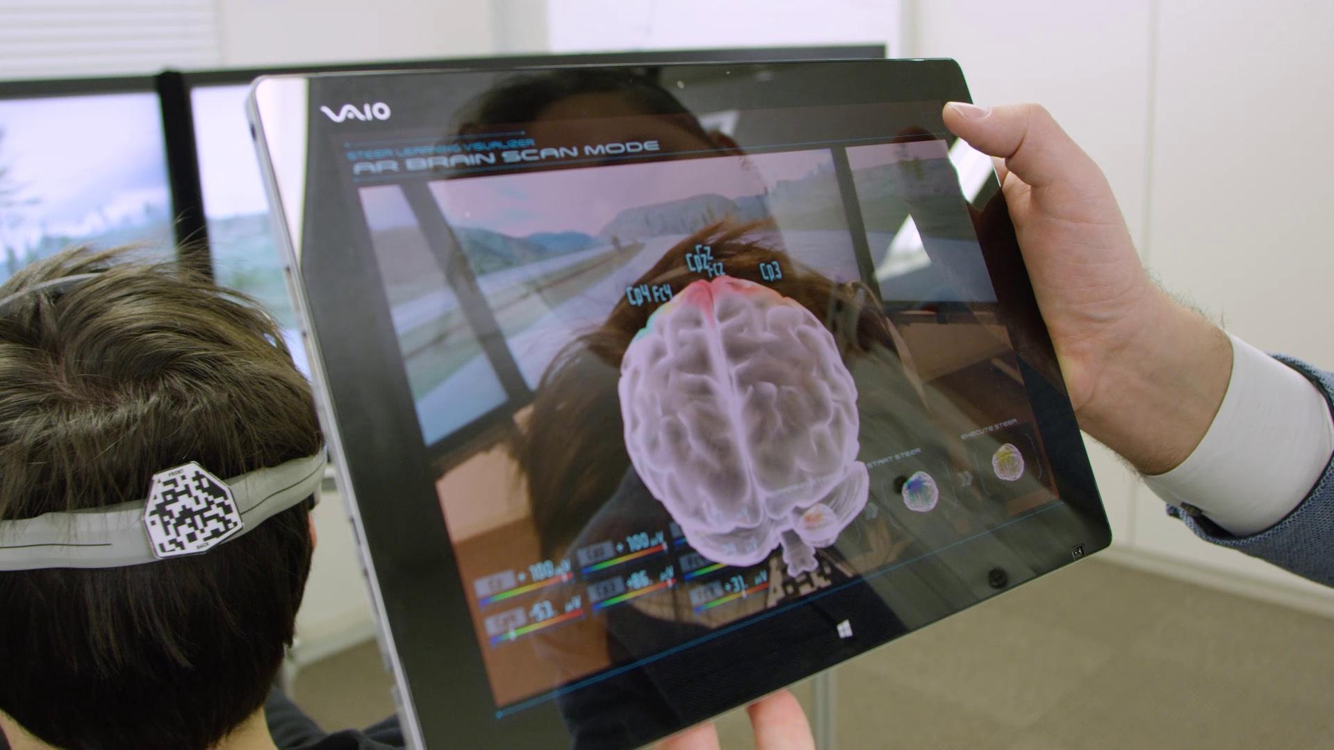 人车终于合一 日产研发由大脑控制的汽车技术