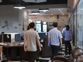 医药高新区组织开展网吧专项检查整治