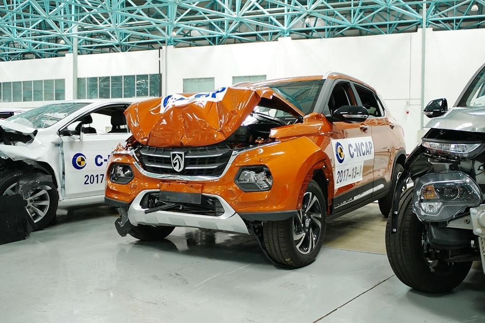 两车碰撞成绩比途观L高 最新C-NCAP发布